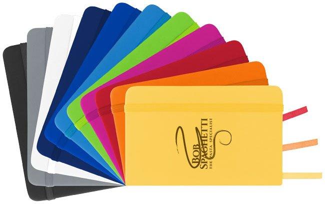 Notebook coloratissimi personalizzabili