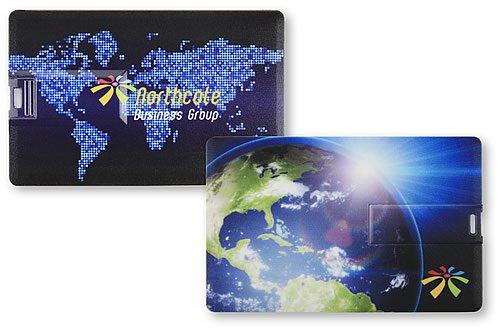 Chiave USB Credit Card, un biglietto da visita di prestigio