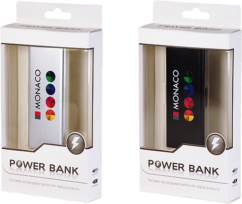 Power bank personalizzabili quadricromia