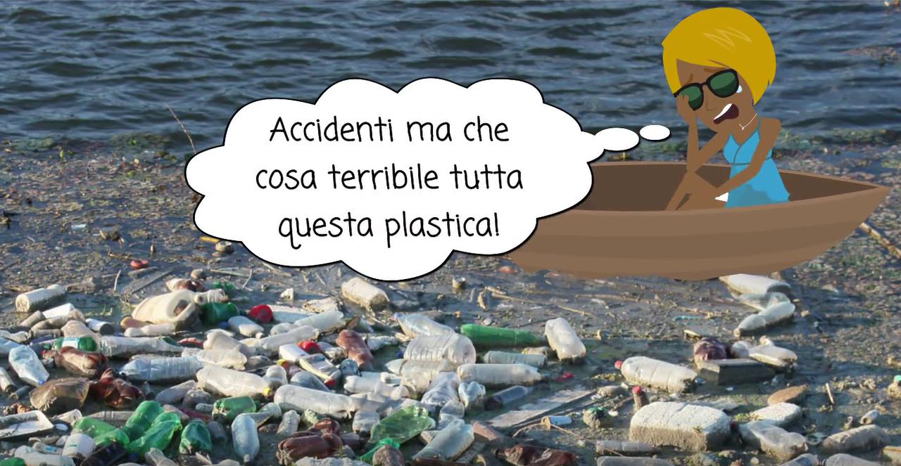 Quando la plastica si ricicla in una opera d'arte